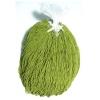 Seedbead 15/0 Opaque Lime Green Strung